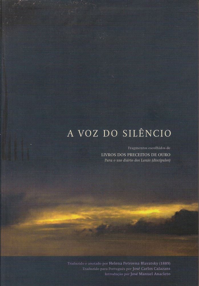A Voz do Silêncio (Ed. Monja D`Arte)