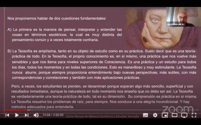 Como Pensar de Manera Esotérica y Estudiar Teosofia