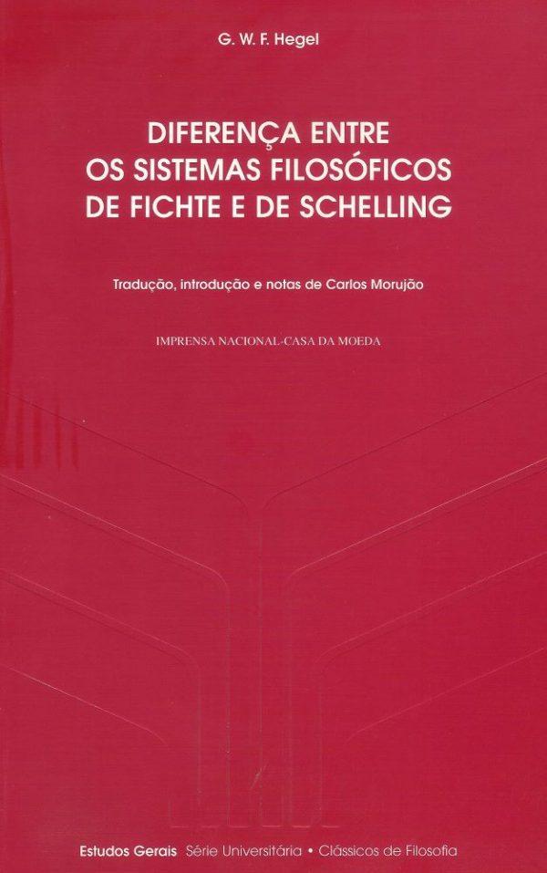 Diferença Entre os Sistemas Filosóficos de Fichte e de Schelling