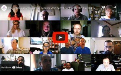International research online-seminar «The Secret Doctrine by H.P. Blavatsky»